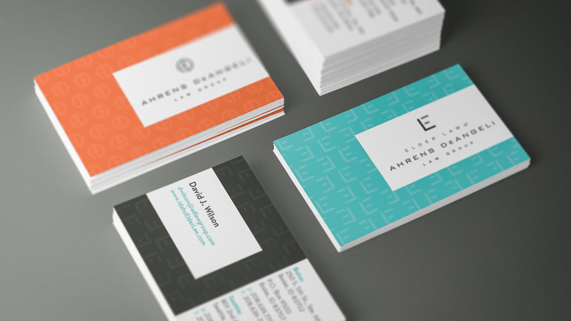 ADLG business cards