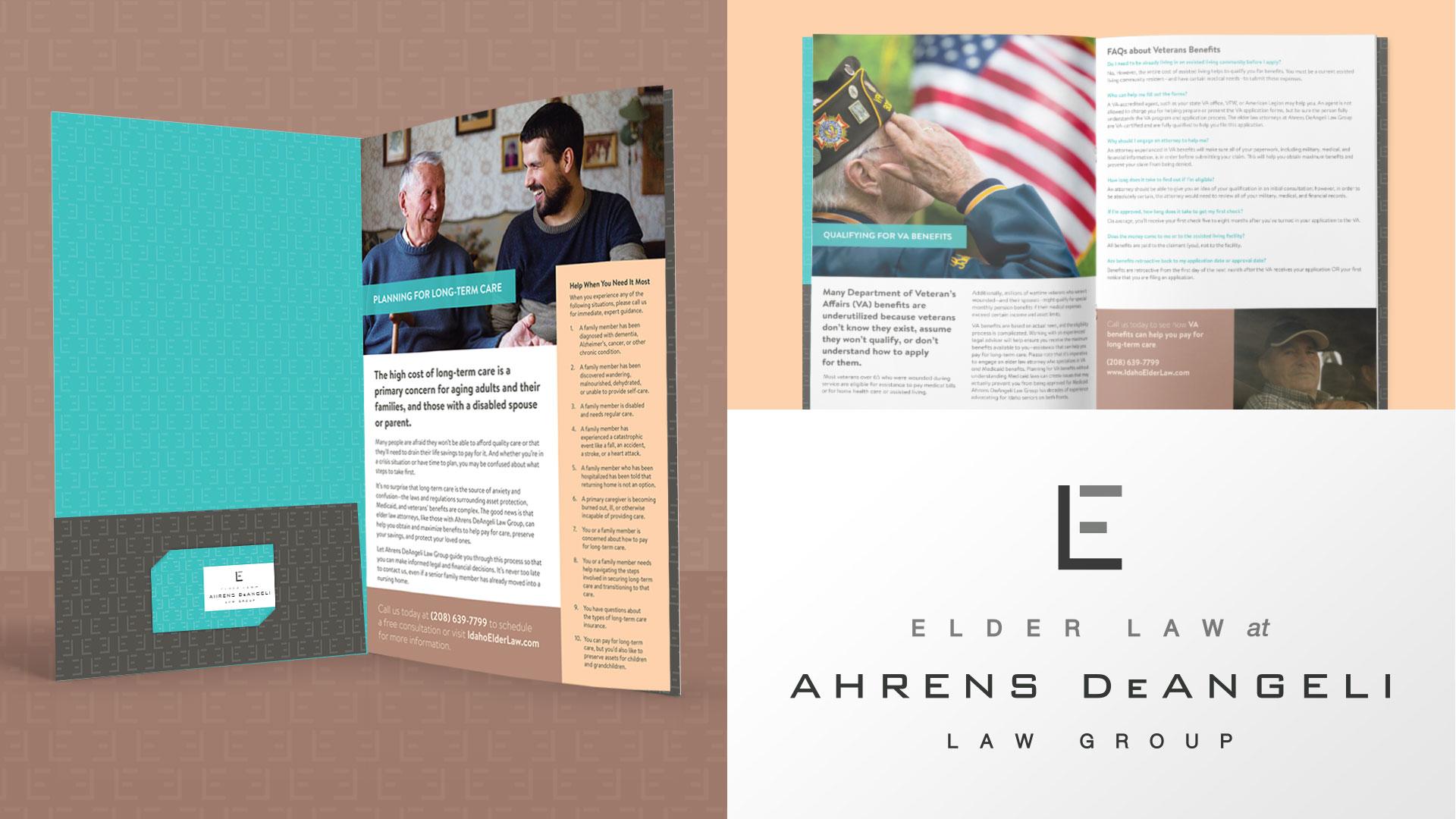 Idaho Elder Law brochure