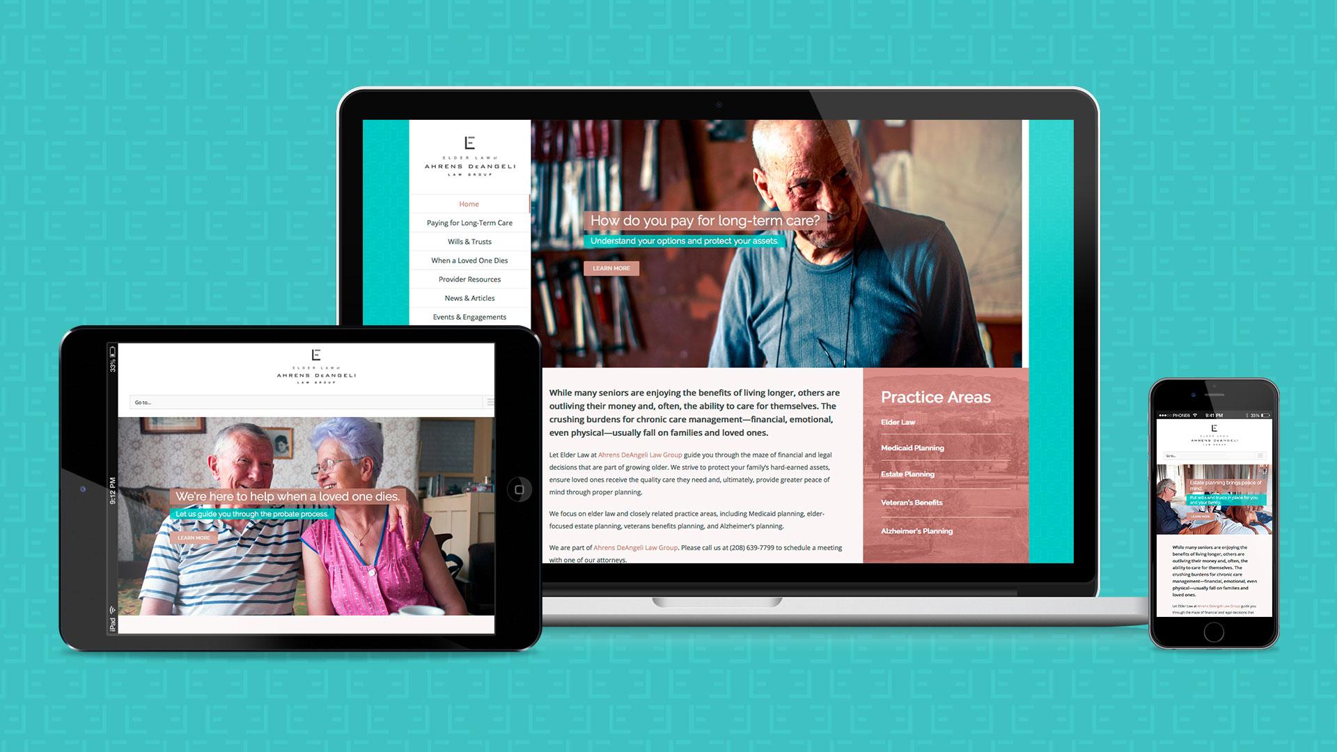 Idaho Elder Law website samples