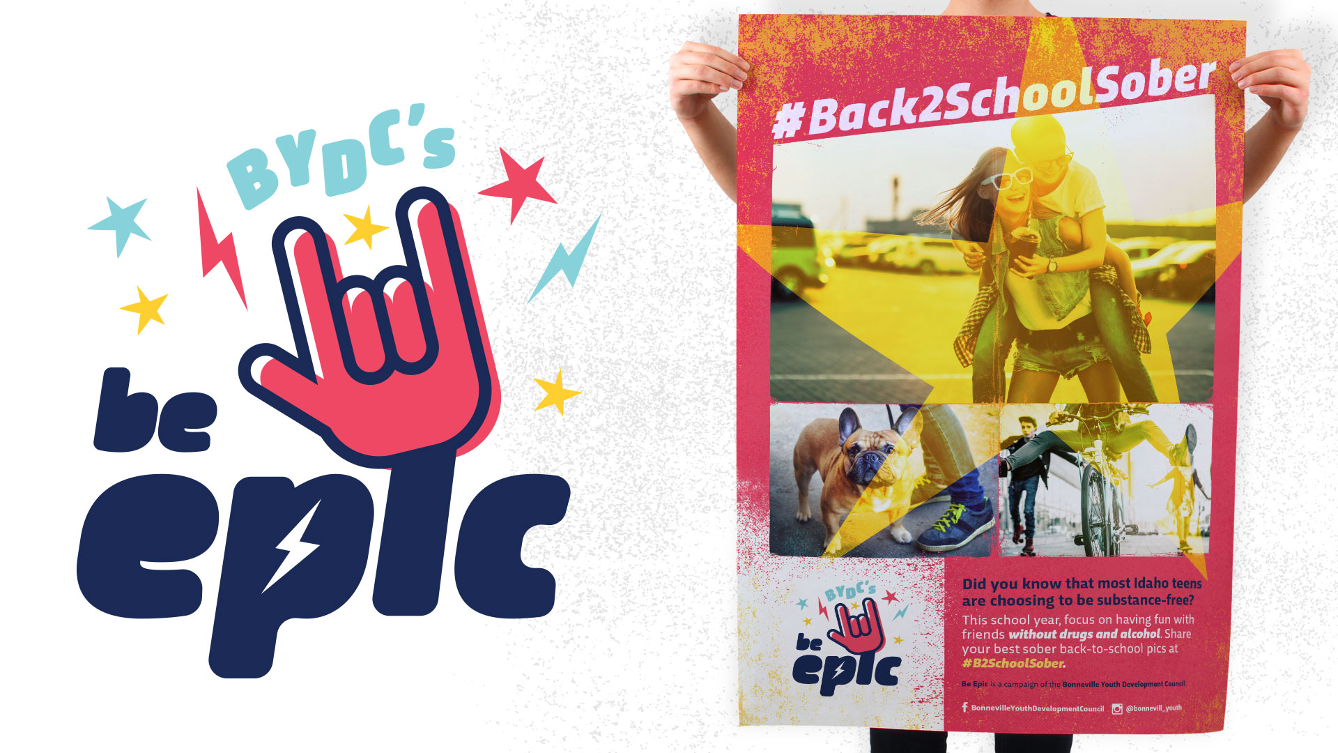 BYDC Be Epic campaign logo