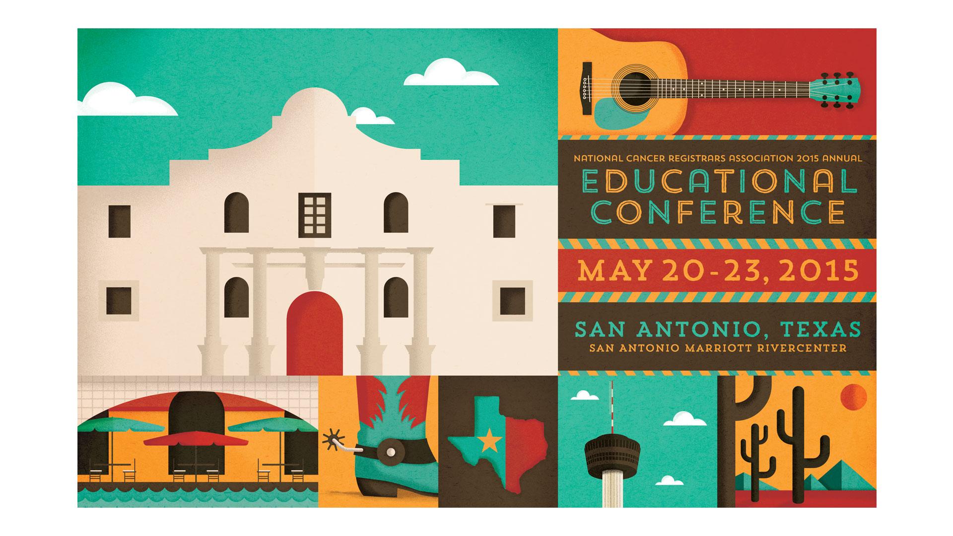 NCRA San Antonio conference postcard