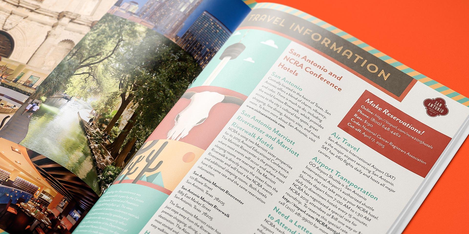 NCRA San Antonio conference brochure
