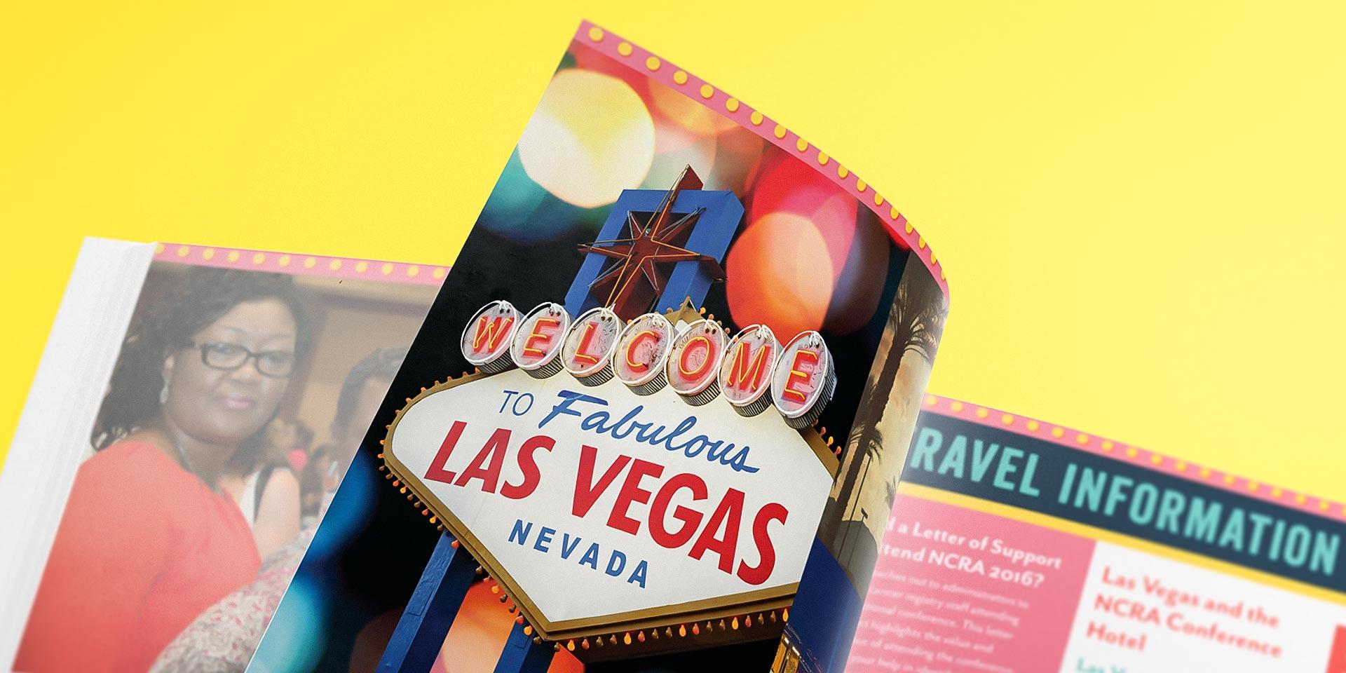 NCRA Las Vegas conference brochure
