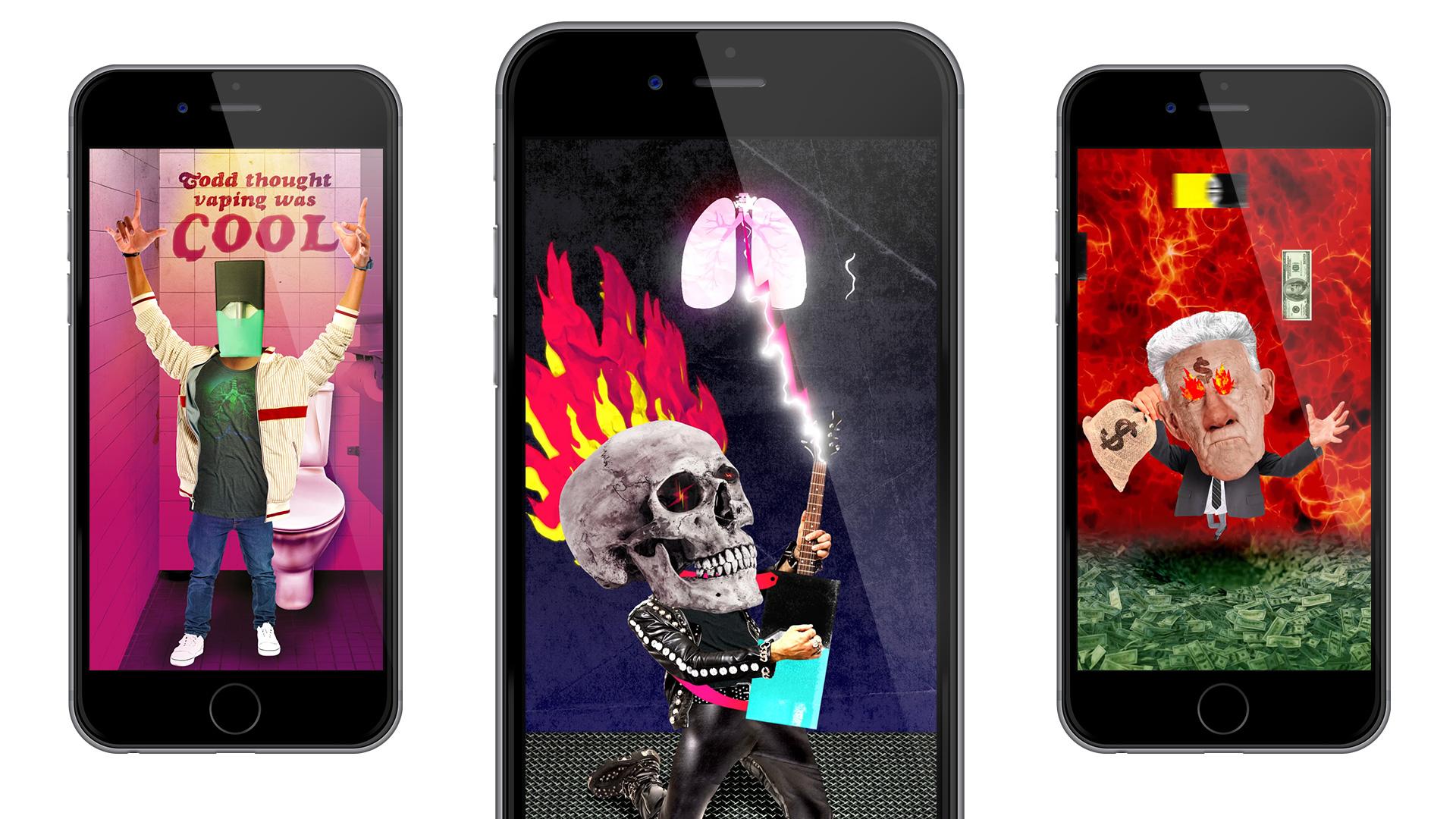 UYLC: Teen Vaping Snapchat Campaign